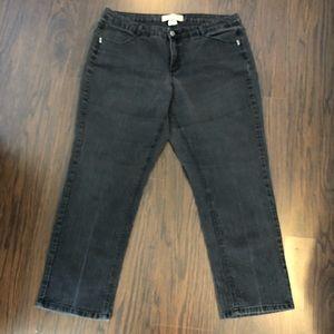 JMS stretch straight leg denim jeans size